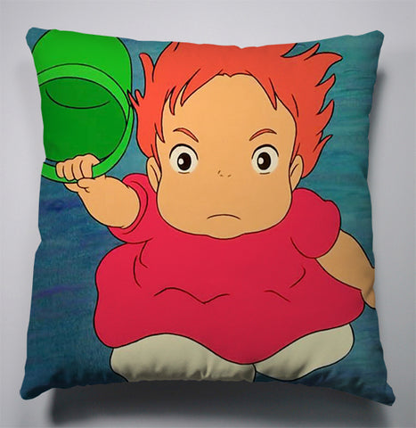 Angry Ponyo Cushion Cover
