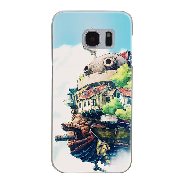 Clouds and Castle Samsung Galaxy Case - Studio Ghibli Shop