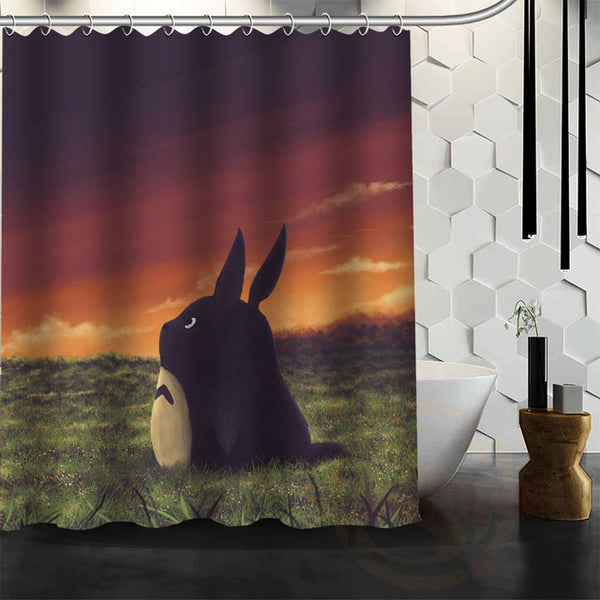 Thinking of Totoro Shower Curtain - Studio Ghibli Shop