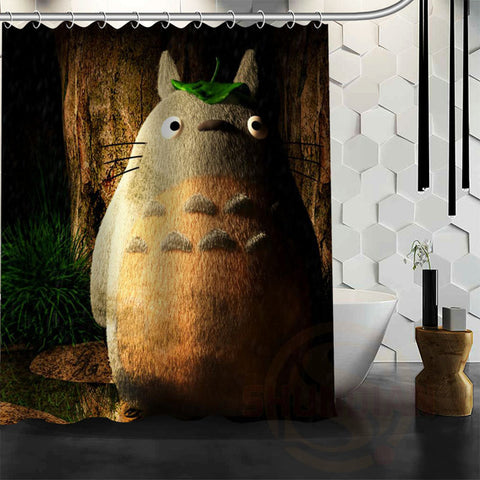 Old Totoro Shower Curtain
