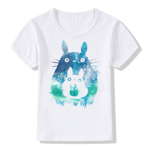 Watercolor Totoro T-shirt