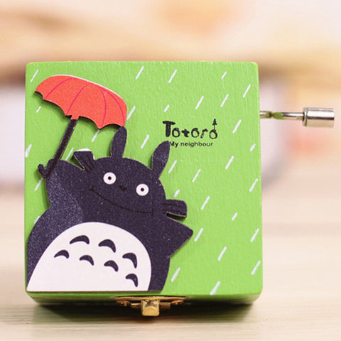 Green Box Totoro Musical Box