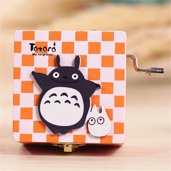 Checkered Totoro Musical Box - Studio Ghibli Shop