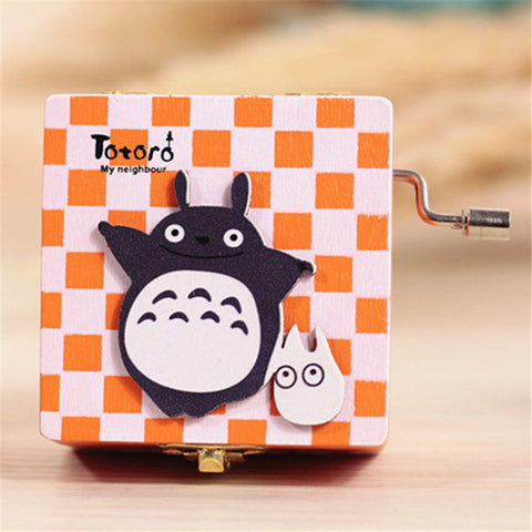 Checkered Totoro Musical Box