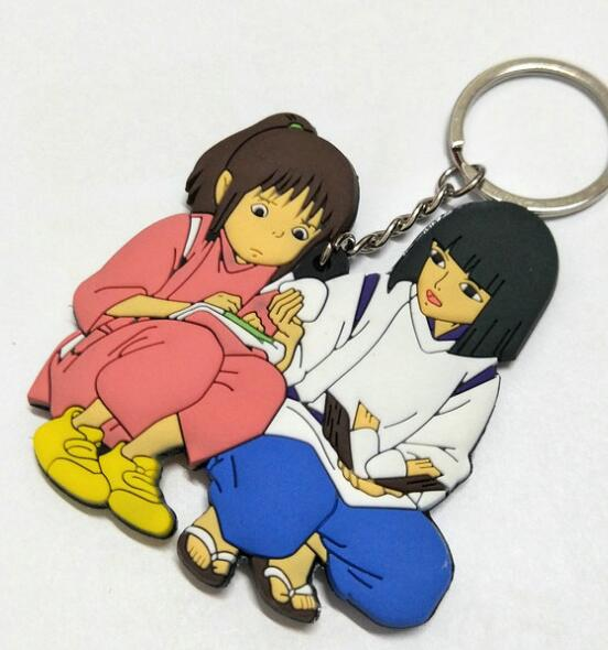 Helping each Other Key Chain - Studio Ghibli Shop