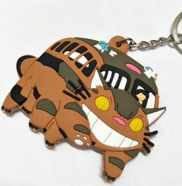 Big Smile for CatBus Key Chain - Studio Ghibli Shop