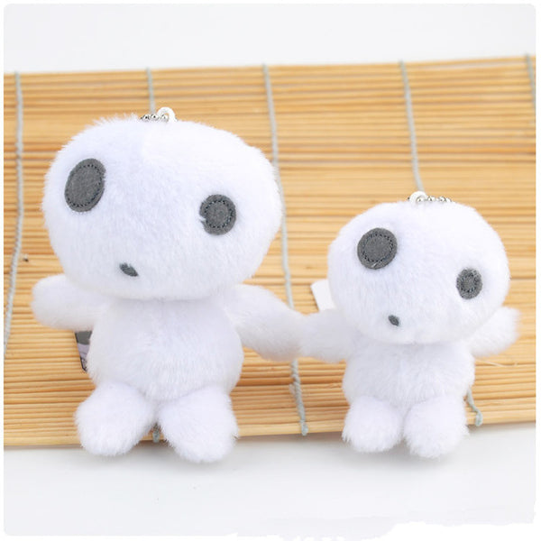 Fluffy Kodama Key Chain - Studio Ghibli Shop