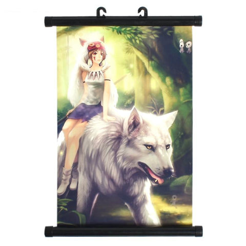 Princess Mononoke Hime Wall Canvas
