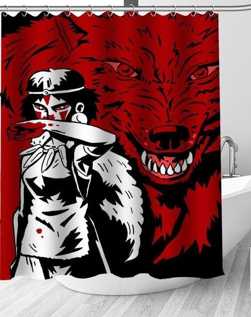 Bloody Princess Shower Curtain