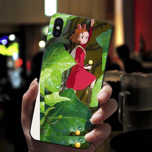Lady Arrietty iPhone Case - Studio Ghibli Shop