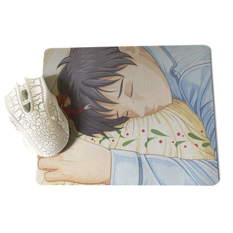 Sho is Sleeping Mouse Pad
