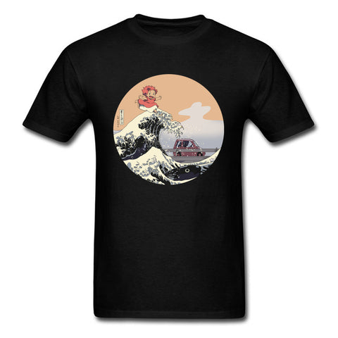 On The Cliff T-shirt