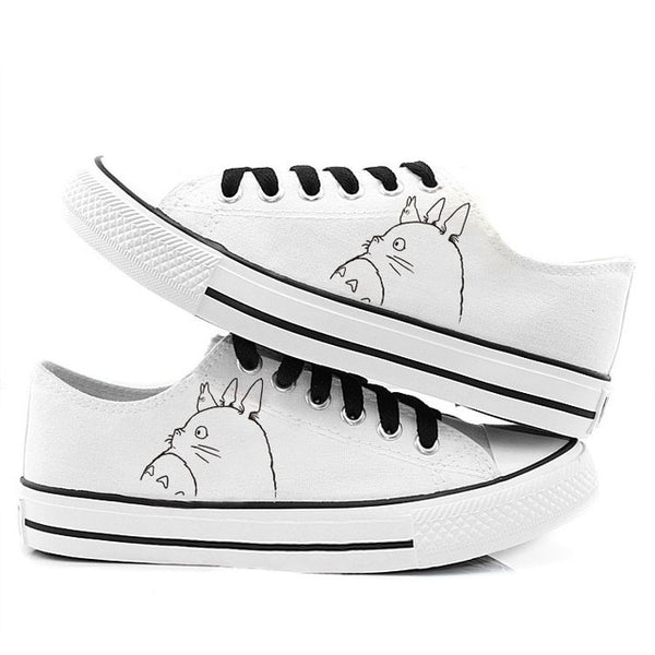 Side View of Totoro Shoes