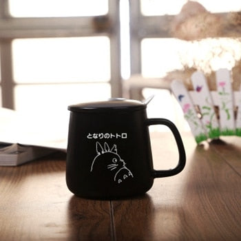My Neighbor Totoro Totoro Neighbor Glass Glass Mug My Mug 5RjALq34