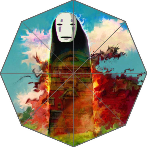 Burning No Face Umbrella - Studio Ghibli Shop