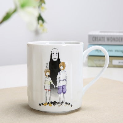 Holding Hands with No Face Mug