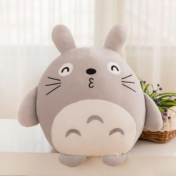 Huggable Throw Totoro Pillow - Studio Ghibli Shop
