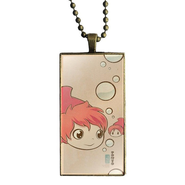 Bubbles Ponyo Necklace - Studio Ghibli Shop