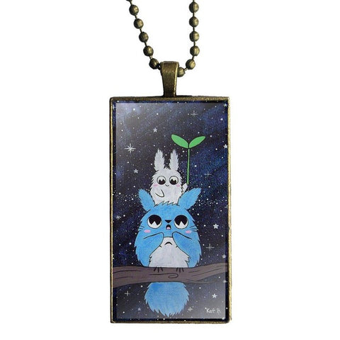 Good night Totoro Necklace