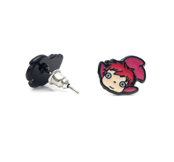 Charm Ponyo Earrings - Studio Ghibli Shop