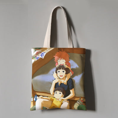 Happy Together Eco Bag - Studio Ghibli Shop