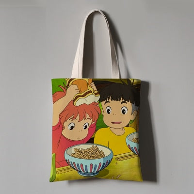 Eating Together Eco Bag - Studio Ghibli Shop