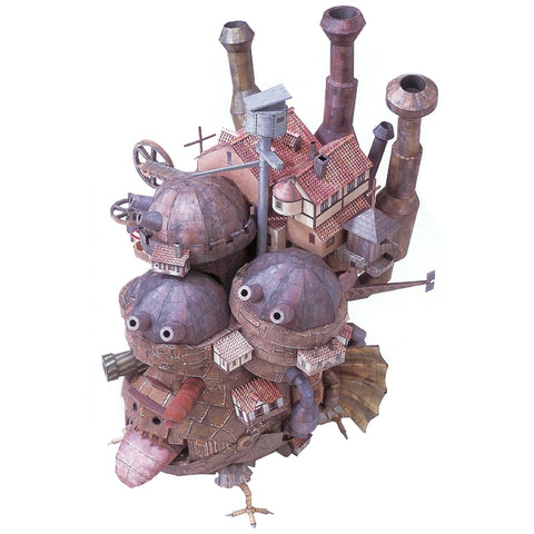 Howls Moving Castle DIY 3d Paper Model