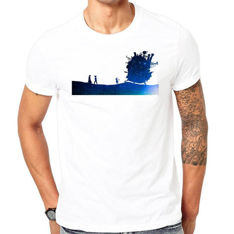 Moving Castle White Shirt