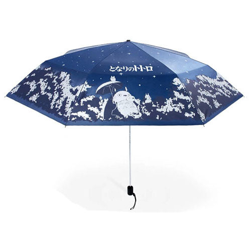 Night Reflective Effect Totoro Umbrella - Studio Ghibli Shop