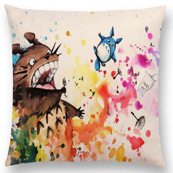 Catch Me If You Can Cushion Cover - Studio Ghibli Shop
