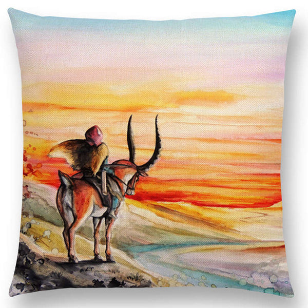 Legend of Ashitaka Cushion Cover