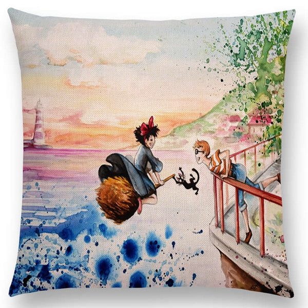 Kiki's Suitor Cushion Cover