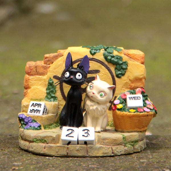 Couple JiJi Cat Calendar - Studio Ghibli Shop