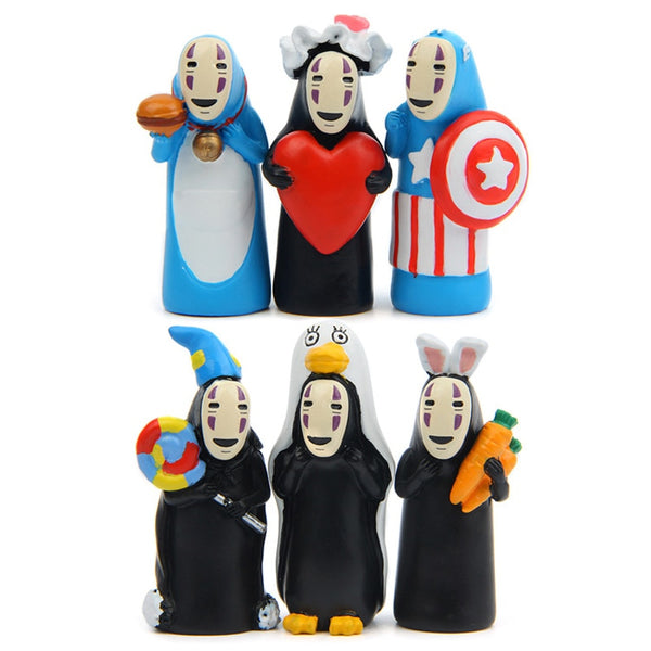 Happy No Face Figure - Studio Ghibli Shop