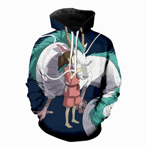 3D Fashion Dragon Hoodie