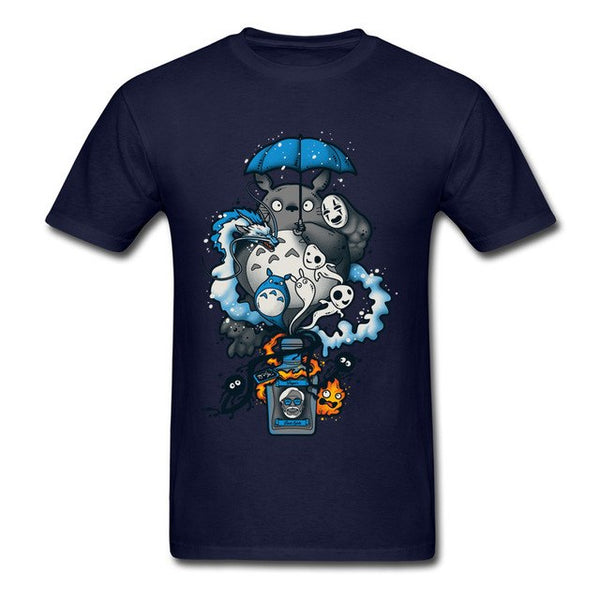 Bottled Spirits T-Shirt - Studio Ghibli Shop