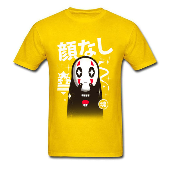Graffiti No Face T-Shirt - Studio Ghibli Shop