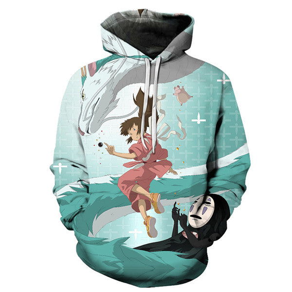 Magical Spirited Away Hoodie - Studio Ghibli Shop