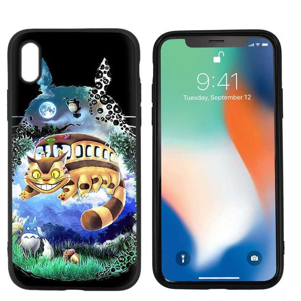 The Art of Totoro iPhone Case