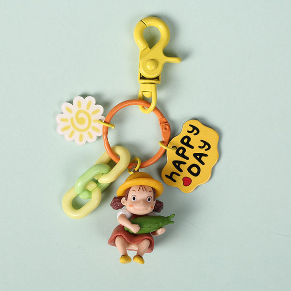 Mei Kusakabe Doll Key Chain