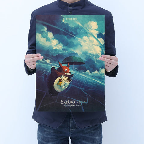 My Neighbor Totoro Japanese Movie Poster