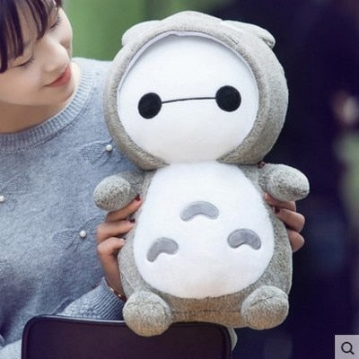 Baymax Totoro Crossover Plush Doll