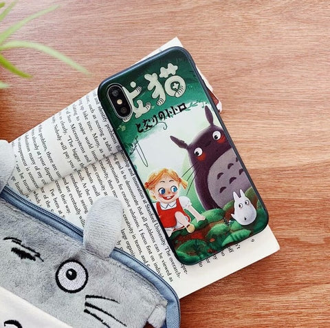 Mei and Totoro iPhone Case
