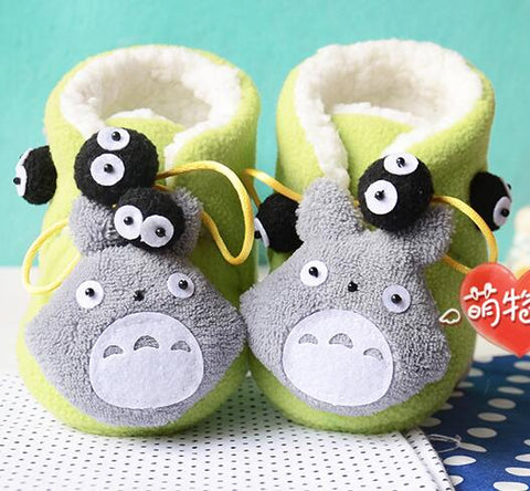 Totoro baby toddler shoes Fabric cloth kit doll Craft DIY Sewing set Handwork Material DIY needlework supplies