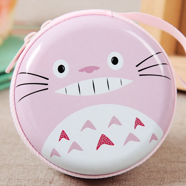 Tinplate Pink Totoro Coin Purse