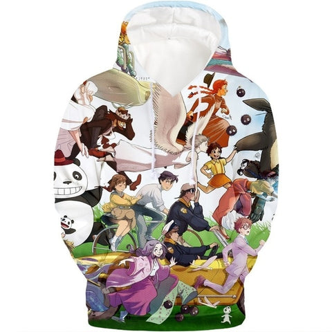 Studio Ghibli Anime Sweatshirt