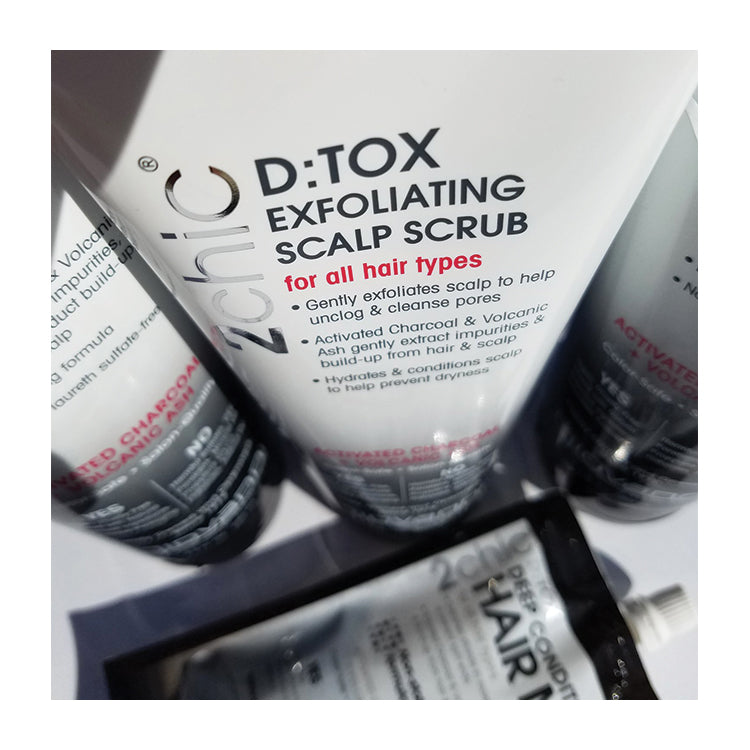 Activated Charcoal & Volcanic Ash - Detox Exfoliating Scalp Scrub