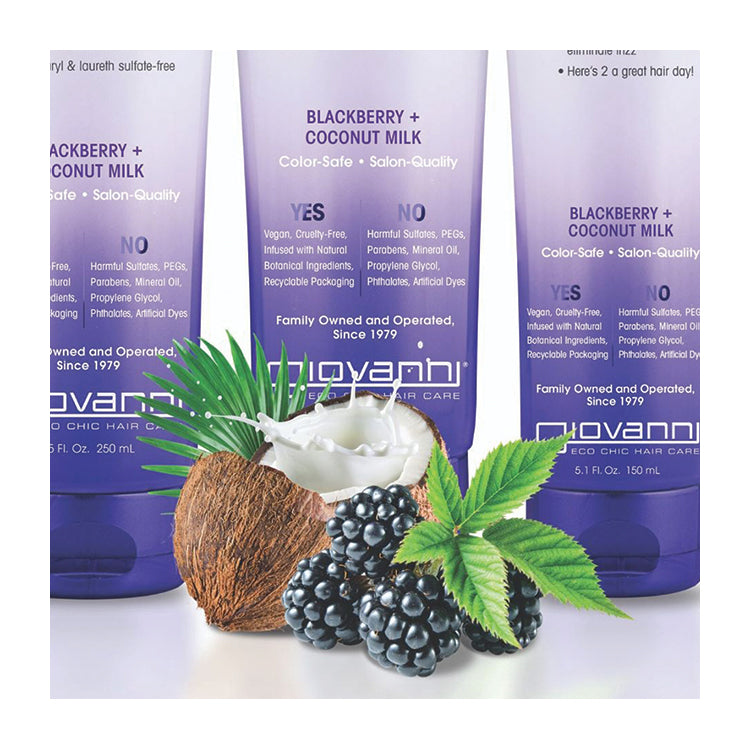 Blackberry & Coconut Milk - Repairing Intensive Hair Mask