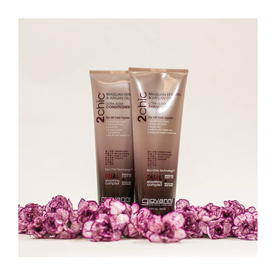 Brazilian Keratin & Argan Oil - Ultra Sleek Shampoo