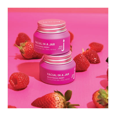Brightening Berry Exfoliating Gel - Facial in a Jar